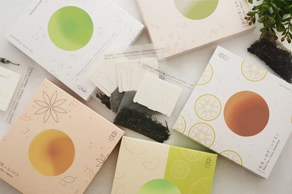 Drip Tea + Plus 5種類セットと茶葉