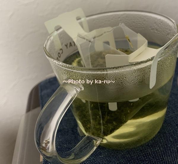 「Drip Tea + Plus」お湯をいれる