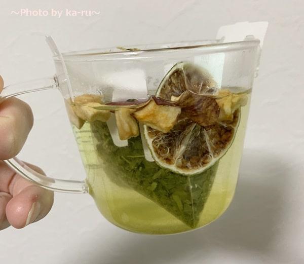「Drip Tea + Plus」スパイスを入れる