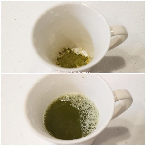 山英「乳酸発酵茶末」 作り方